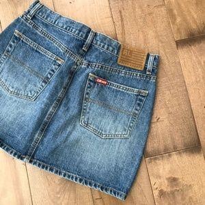 Polo by Ralph Lauren Jean Skirt Denim 8 Mini Short